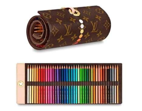 Monogrammed Designer Pencil Cases