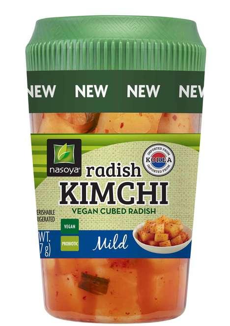 Vegan Kimchi Cups