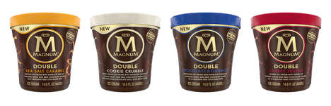 Chocolate-Wrapped Ice Cream Tubs