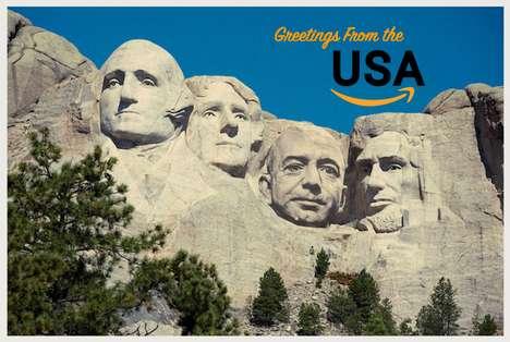 Branded Humorous Postcard Designs