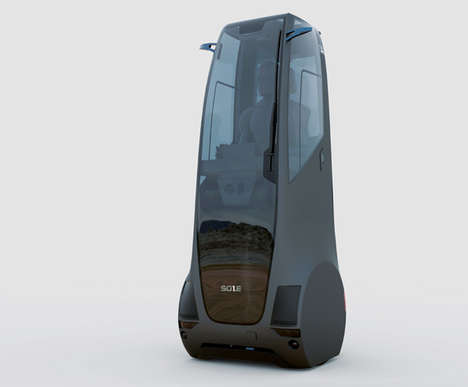 Single-Person Transportation Pods
