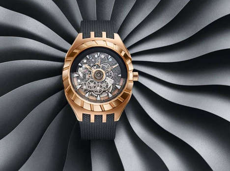 Skeletal Paramagnetic Timepieces