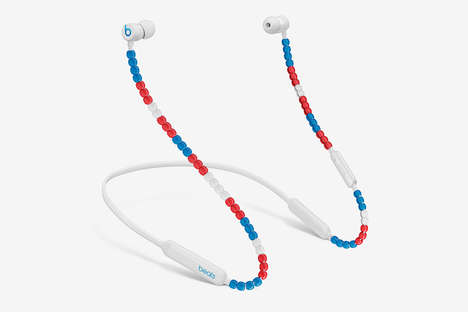 Beaded Wireless Earphones