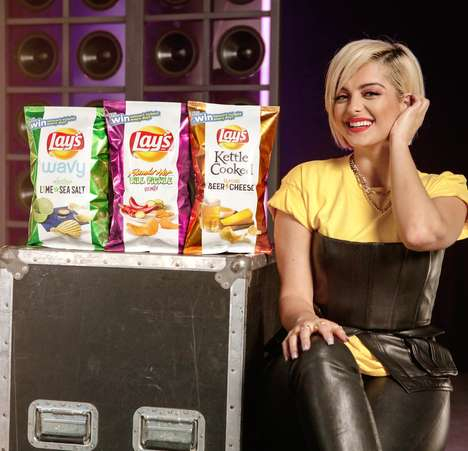 Music-Inspired Chip Flavors