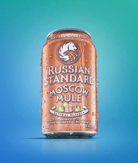 Moscow Mule Cocktail Cans