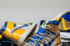 Basketball-Inspired Reconstructed Sneakers
