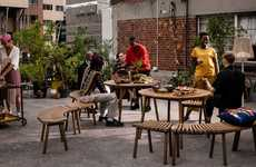 Collaborative African Furniture - IKEA Co-Created the Överallt Collection with African Designers