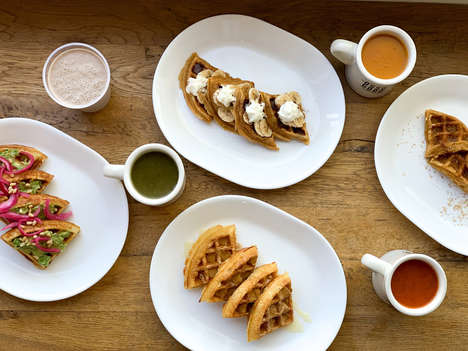 Bone Broth Waffles - The Osso Good Café Serves Waffles Made with Its Signature Bone Broth