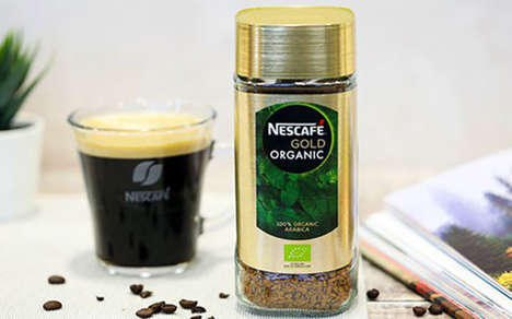 Mainstream Organic Instant Coffees