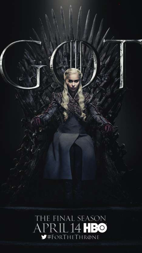 Final Season Teaser Posters - HBO's 20 Game of Thrones Posters are Quite Mysterious & Foreshadowing