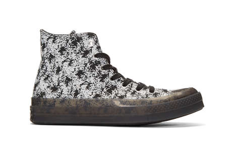 Translucent Rubber Midsole Sneakers