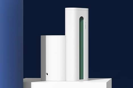 Modernist Industrial Air Purifiers