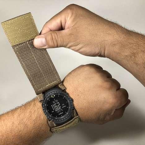 Protective Wristwatch Straps