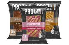 Collagen Protein-Enriched Snacks - The Earnest Eats Pro Toasty Snacks are Satisfying