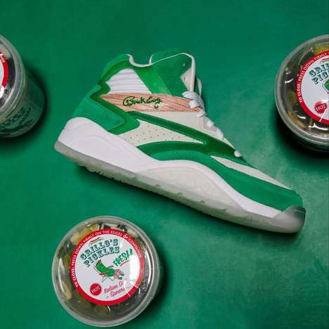 Pickle-Theamed Sneakers