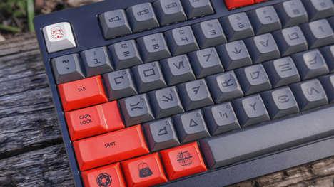 Sci-Fi-Inspired Customizable Keyboard Designs