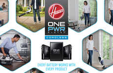 Cordless Cleaning Systems - The Entire HOOVER ONEPWR System Shares a Single Lithium-Ion Battery