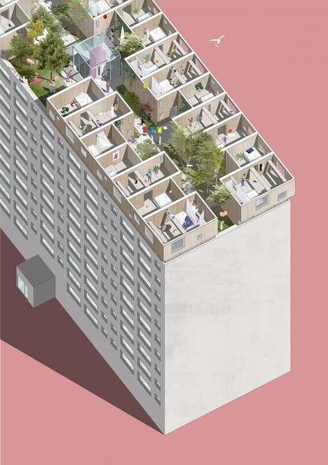 Roof-Based Modular Villages