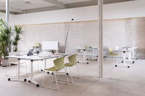 Space-Saving Stackable Office Chairs - Actiu's 'Whass' is Ultra-Convenient for the Modern Office