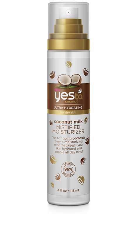 Milky Moisturizing Mists - YESTO's 'Coconut Milk Mistified Moisturizer' Deeply Hydrates Dry Skin