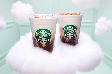 Foaming Cloud-Like Espresso Drinks