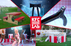 QSR Crowdfunding Concepts - The KFC Innovations Lab Shares KFC Product Ideas on Indiegogo