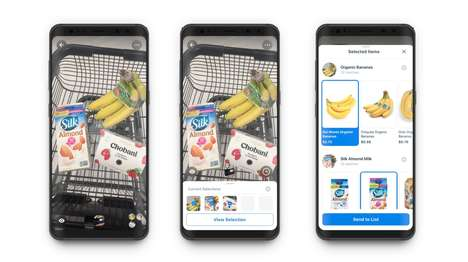 Supermarket Visual Search Tools
