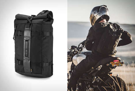 Single-Strap Motorcyclist Backpacks