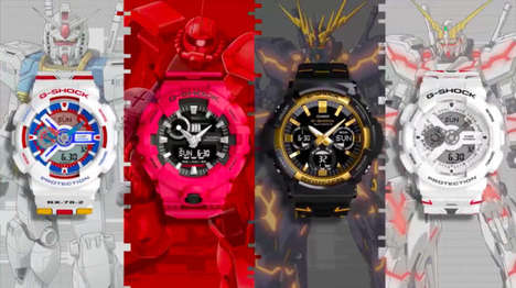 Mecha Anime Timepieces