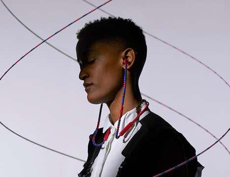 Beaded Customization Headphones