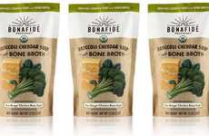Comforting Bone Broth Soups - The Bonafide Provisions Organic Broccoli Cheddar Soup is Satisfying