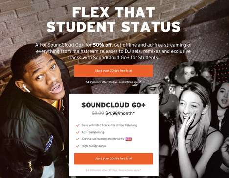 Student-Friendly Music Subscriptions