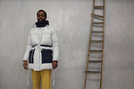 Inaugural Cinched Outerwear Capsules