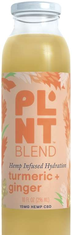 Hydrating Hemp Drinks - PLNT's Iced Tea and Fruit Water Beverages Contain an Active Hemp Extract