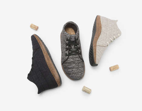 High-Performance Cork Sneakers
