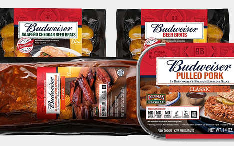 Beer-Branded Meat Products