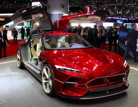 Renaissance-Themed Italian Supercars