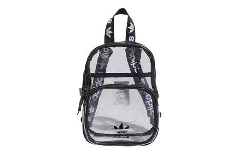 Clear Sporty Backpacks