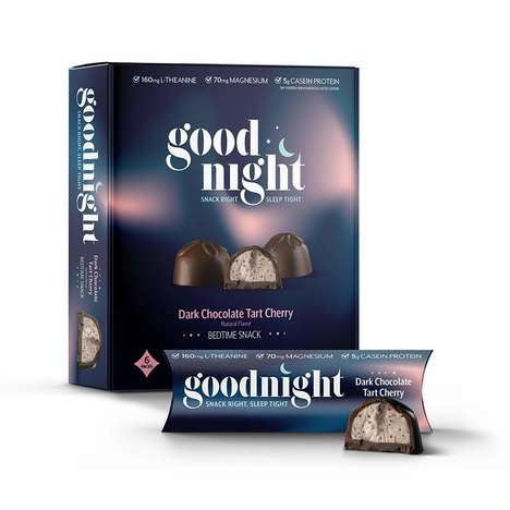 Sleep-Supporting Snacks - Goodnight's Bedtime Snack Contains Magnesium and L-Theanine