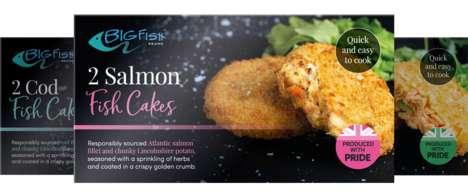 Nutritious Frozen Fish Cakes