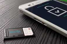Cryptocurrency Smartphone Cards - The 'VaultTel' Software Wallet Securely Stores Digital Currency