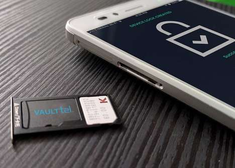 Cryptocurrency Smartphone Cards