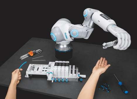 Silicone-Sheathed Robotic Limbs