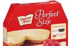 Shareable Small Cheesecakes - Duncan Hines' Perfect Size Cheesecake Serves Two to Four People