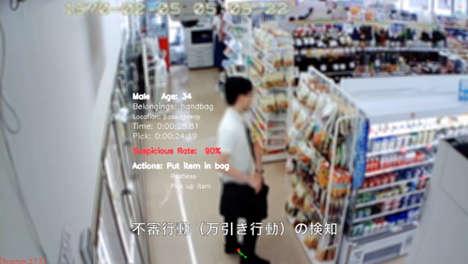 Shoplifter-Identifying AI Tech