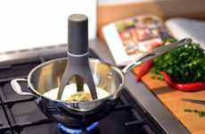 Automated Pan-Stirring Appliances - The Uutensil Stirr Prevents Recipes from Burning or Clumping