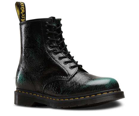 St. Patrick's Day Combat Boots