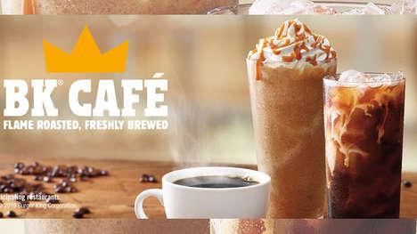 Premium QSR Coffee Menus