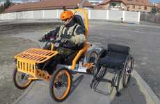 Disability-Friendly Mountain Carts - This Cart Helps Disabled Extreme Athletes Conquer the Outdoors