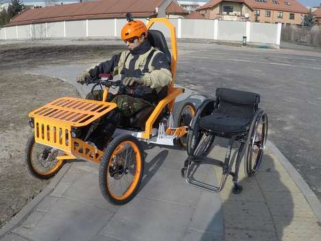 Disability-Friendly Mountain Carts
